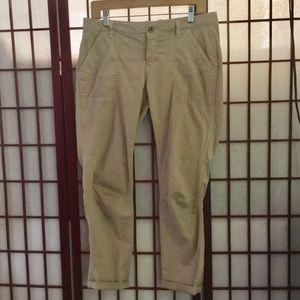 Gap Khaki's - light tan, 4 pockets